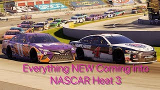 Everything NEW Coming into NASCAR Heat 3