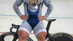 World's Fastest Cyclist Trains Legs like a Beast!