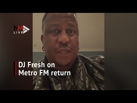 DJ Fresh on Metro FM return: You deserve better than the silence and I'll break it