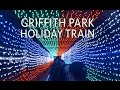 Griffith Park Train - Holiday Light Festival Train Ride (Complete Ride)