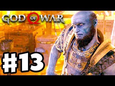 Landsuther Mines! - God Of War - Gameplay Walkthrough Part 13 (God Of War 4)