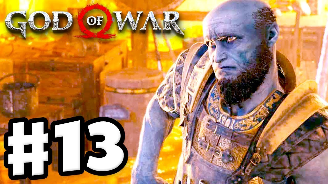 god of war how to get to landsuther mines