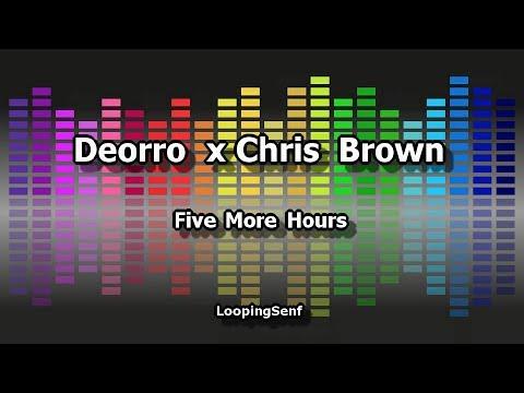 Deorro x Chris Brown - Five More Hours - Karaoke
