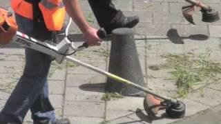 STIHL FR 350 - The spinal wear for brushcutter professionals.   Ruggedragen motorzeis