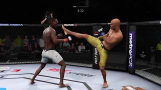 SuperFight  UFC Adesanya vs Silva
