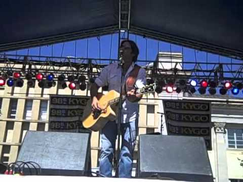Steve Azar  Sunshine Live at A Taste of Colorado With KYGO