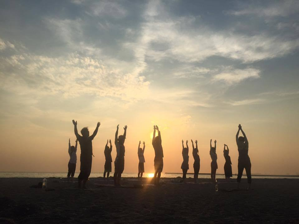 Sunset Beach YOGA (2015年7月26日)