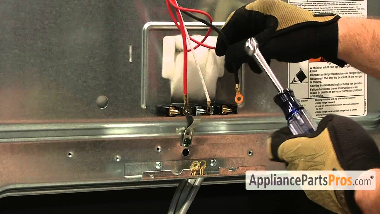 Oven Terminal Block (part #WP9761958)How To Replace  YouTube