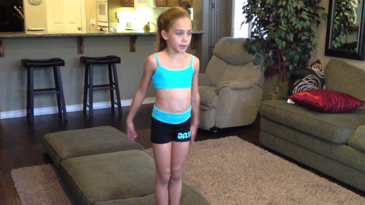 Learn how to do a round off backhandspring