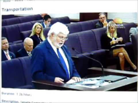 Sen Latvala introduces bill from Tampa Bay Partnership, SB 1672