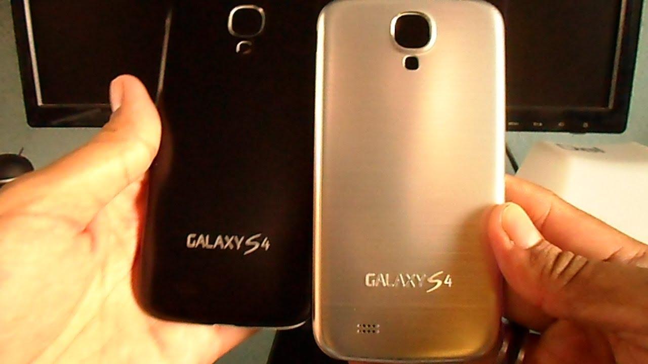 cambio de carcasa samsung galaxy s4