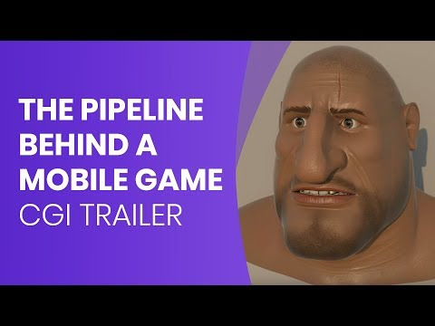 The pipeline behind a mobile game CGI Trailer