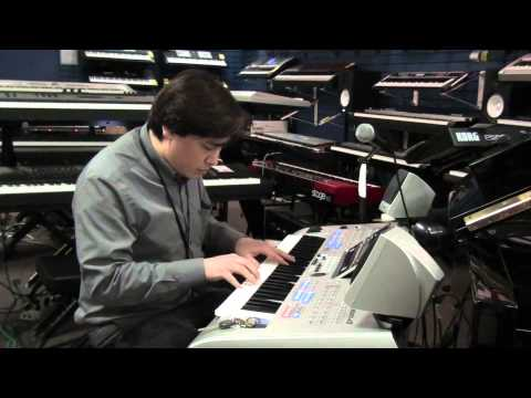 Halo Theme performed on a Tyros 4 by A. Mark Wilburn @ Tom Lee Music Richmond