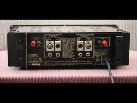 Yamaha P2100 Amp Demo