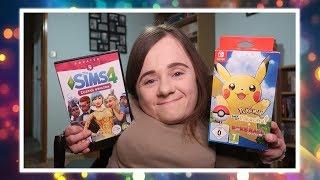 Jestem dziecinna bo gram w Pokemon Let's Go Pikachu  | Vlog | Magdalena Augustynowicz