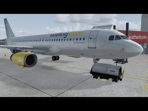 Prepar3D - A320 La Palma → Nice ** Shared Cockpit e Multicâm