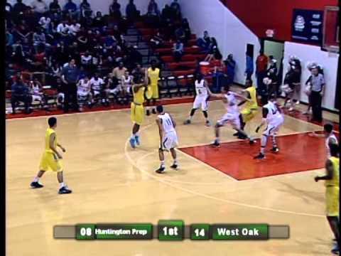 West Oaks Academy vs Huntington Prep 12/22/2013 Part 1