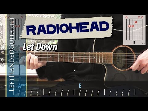 Radiohead - Let Down | Acoustic Guitar Lesson
