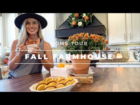 Fall Farmhouse Home Tour 2019