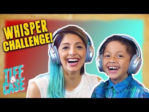 WHISPER CHALLENGE (MOM VS. SON)