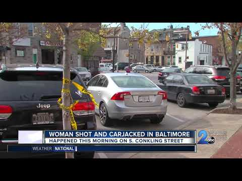 Women shot and carjacked in Baltimore