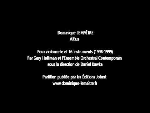 Dominique LEMAITRE - Altius