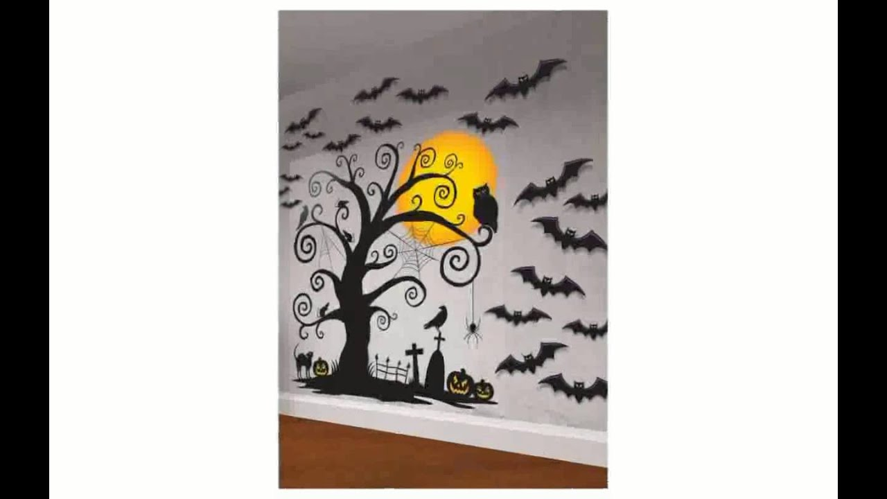 Delightful Halloween Wall Decorations   Chocaric