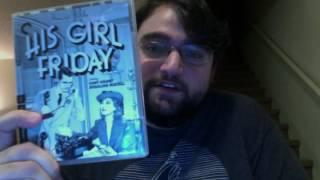 Unpacking Criterion Blu-rays: Black Girl & His Girl Friday