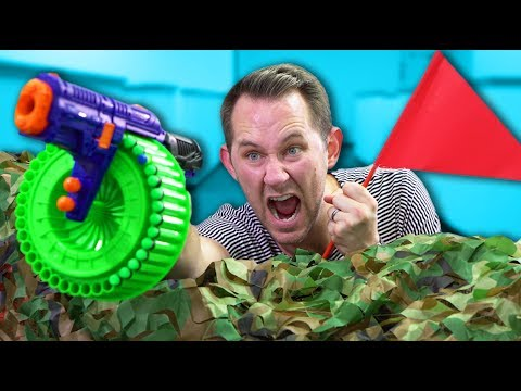 NERF Capture the Flag! [Ep 2]!