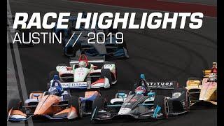 2019 NTT INDYCAR Series: Austin Race Highlights