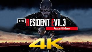 Resident Evil 3 Raccoon City Demo | 4K 60fps | Walkthrough Gameplay No Commentary