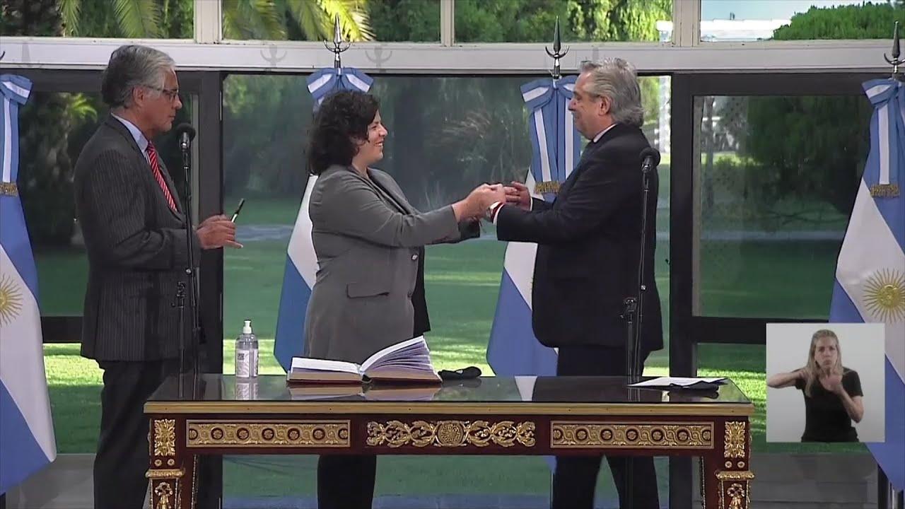 Vizzotti juró como nueva ministra de Salud en reemplazo de Ginés González García