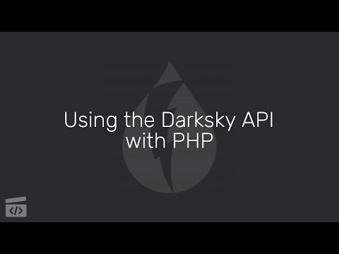 Using The Darksky API With PHP, Part 1: Introduction