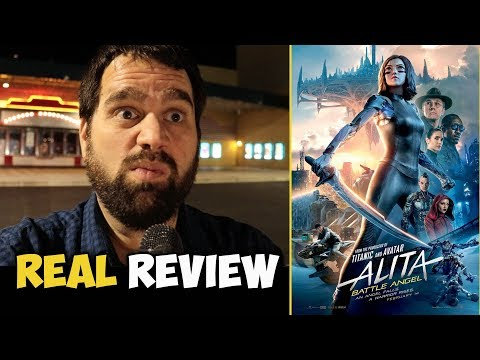 Alita: Battle Angel Review - REAL AUDIENCE REACTIONS! The Critics Are Wrong
