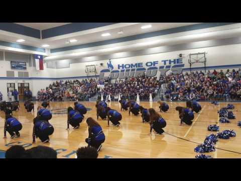 Beyonce remix-pep rally dance EHS dance team