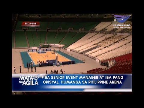 FIBA World 3x3 officials, nag inspeksyon sa Philippine Arena