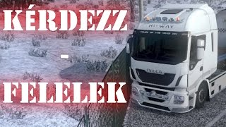 Euro Truck Simulator 2 gameplay (HUN) - Innsbruck - Svájc - Early Winter mod + letöltés