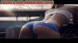 PEOPLE ARE AWESOME 2016 (Trick Shots Edition)- Funny videos 2016