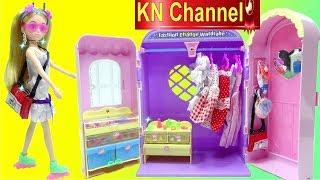 Đồ chơi trẻ em BÚP BÊ LELIA TRANG ĐIỂM ĐI HỌC | Fashion Change wardrobe