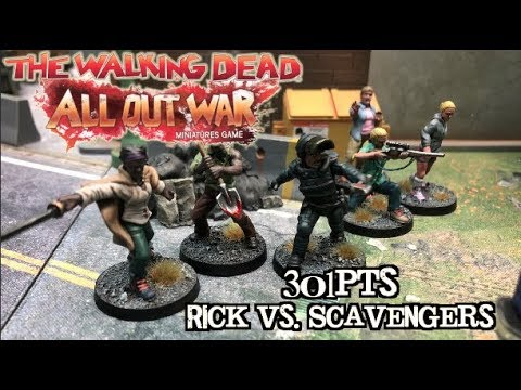 The Walking Dead: All Out War - Ep 02 - Rick's Group vs. Scavengers - 301pts