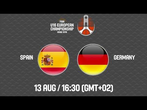 LIVE - Spain v Germany - FIBA U16 European Championship 2019