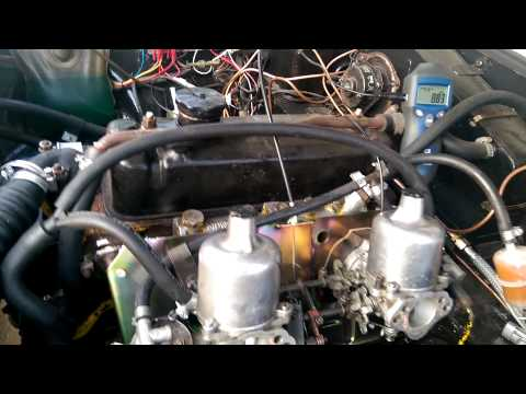 MGB GT After Carb And Idle Tune Up.