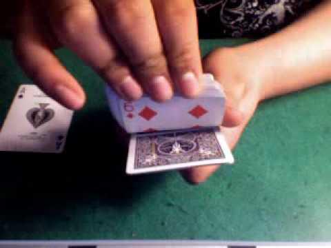 The Card Gun Trick (Bullet)