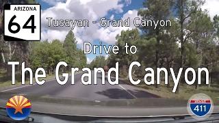 Arizona Highway 64 - Tusayan - Grand Canyon   Drive America's Highways 🚙