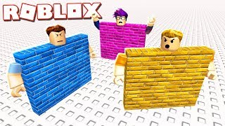 Roblox Adventures - WALL SIMULATOR IN ROBLOX! (Be a Wall)