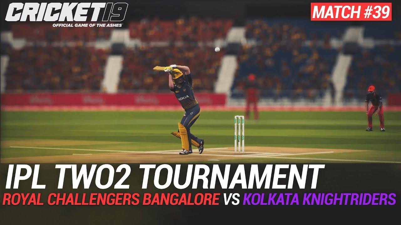 CRICKET 19 - IPL2020 TWO2 - MATCH #39 - ROYAL CHALLENGERS BANGALORE vs KOLKATA KNIGHTRIDERS