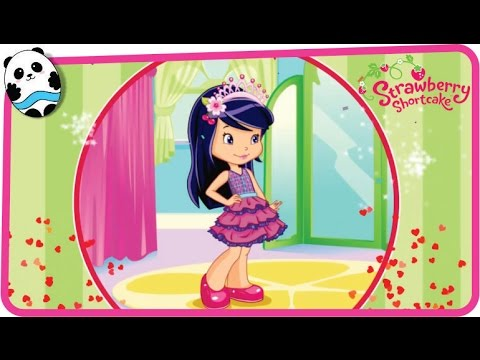 Strawberry Shortcake Berry Beauty Salon - Cherry Jam Fashion Diary, Make Up & Dress Up Game For Kids