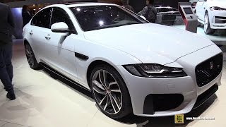 2017 Jaguar XF S AWD - Exterior and Interior Walkaround - 2016 Paris Motor Show