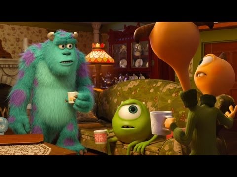 Monsters University Clip Terry Terri And Art Canadian Exclusive