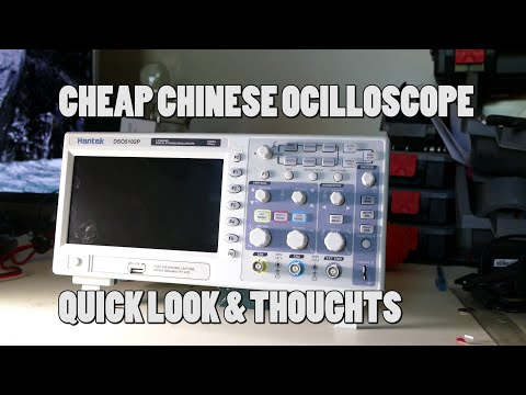 Hantek DSO5102P Digital Oscilloscope - Unboxing & First Impressions